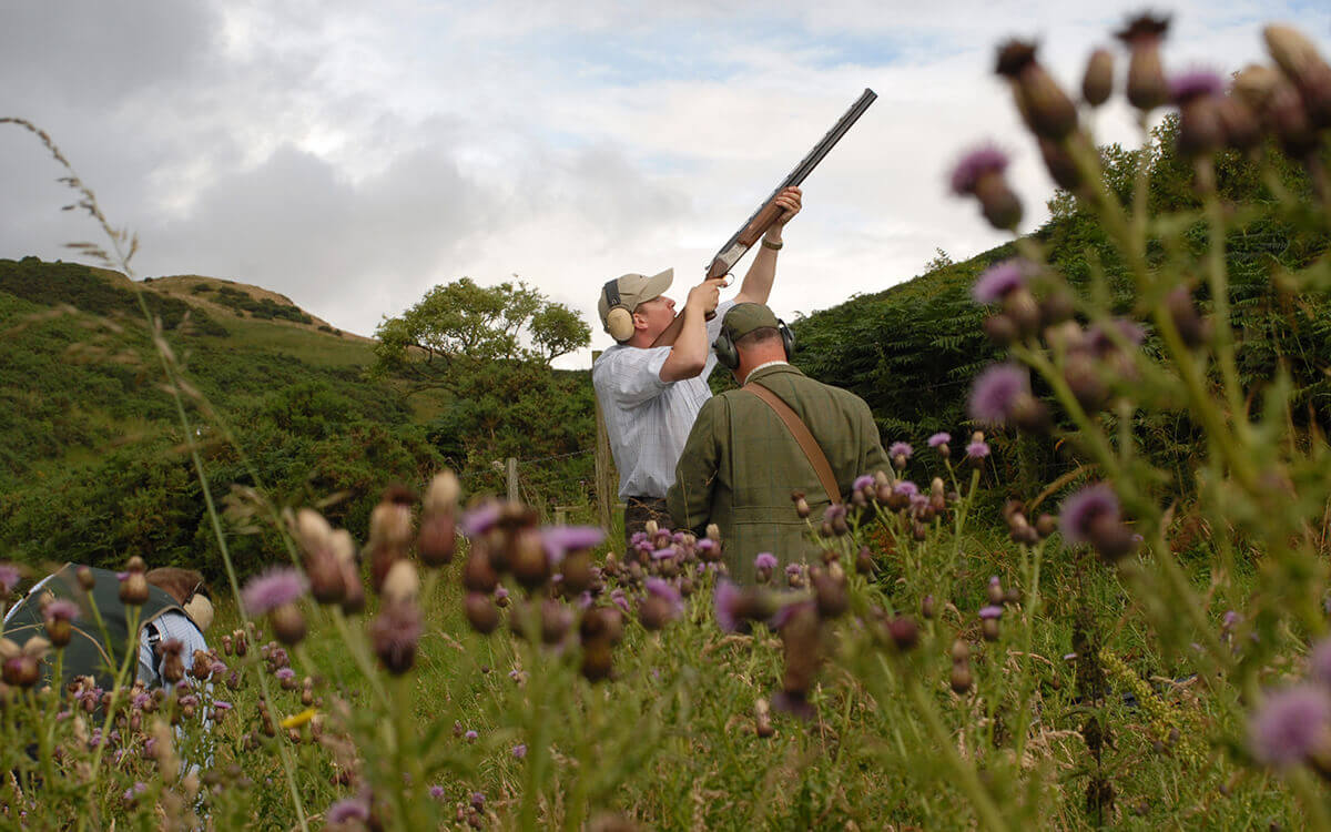 Clay Pigeon Shooting Scotland