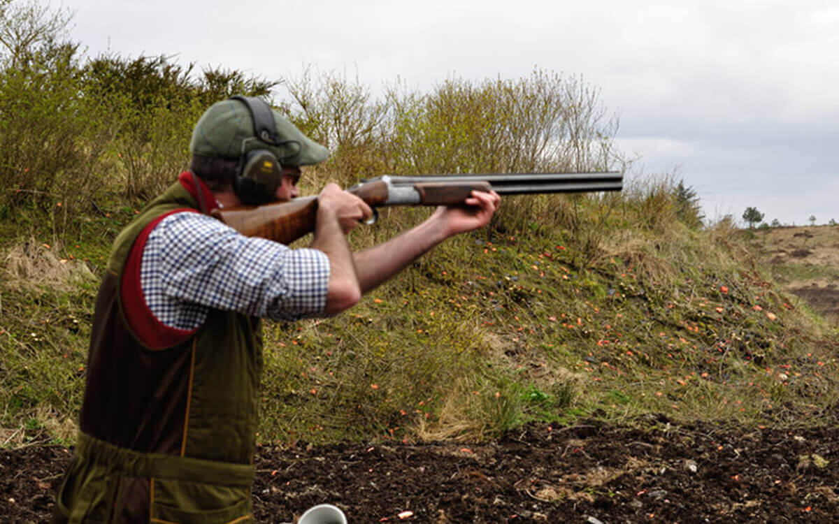 Mobile Clay Pigeon Shooting Scotland
